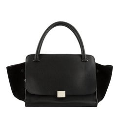 Celine Double Zip Trapeze Bag Leather