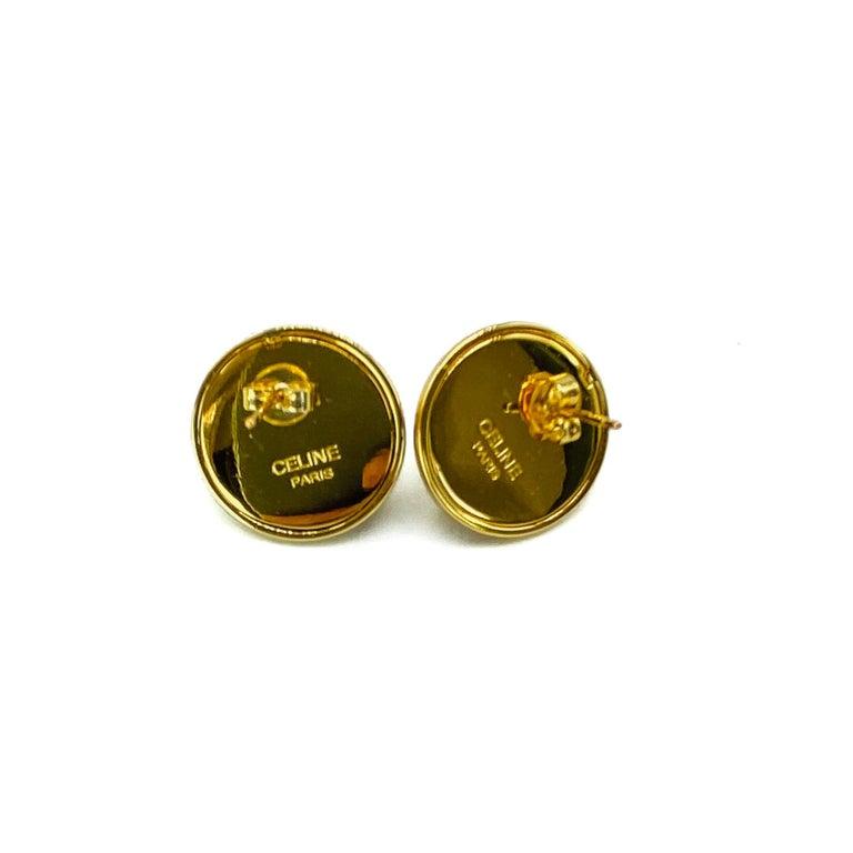 Women's CELINE Earrings Y2K for Pierced Ears For Sale