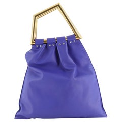 Celine Geometrical Tote Leather Large