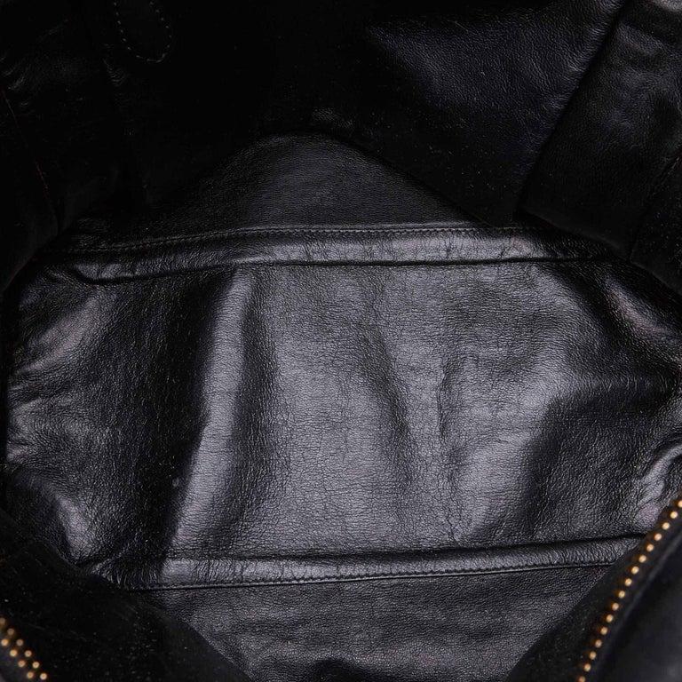 Celine Gray x MultiWool Racer Stripe Medium Luggage For Sale 1