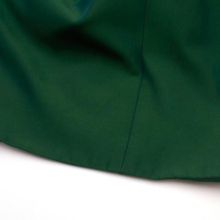 Celine Green Sleeveless Shift Dress - Estimated Size S For Sale 5