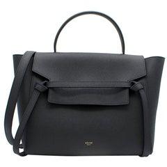 Celine Grey Micro Belt Bag in Smooth Leather - New Season