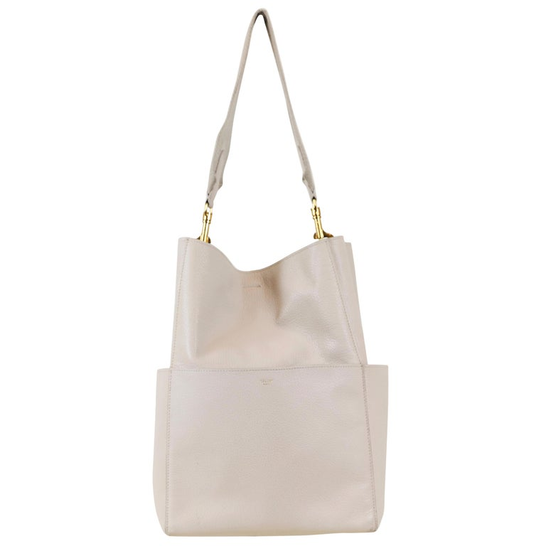 Celine Leather Bucket Bag For Sale