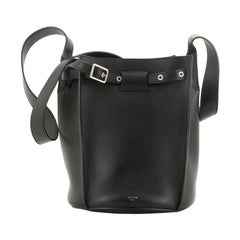 Celine Long Strap Big Bag Bucket Leather
