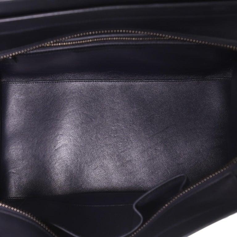 Celine Luggage Bag Canvas and Leather Mini 1