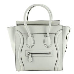 Celine Luggage Bag Grainy Leather Micro