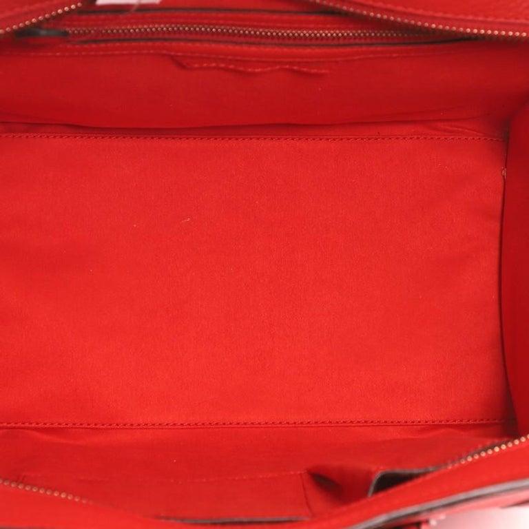 Women's or Men's Celine Luggage Bag Grainy Leather Mini