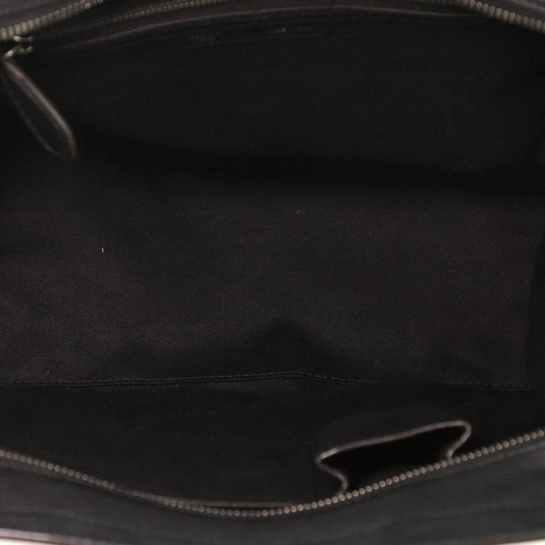 Women's or Men's Celine Luggage Bag Grainy Leather Mini For Sale