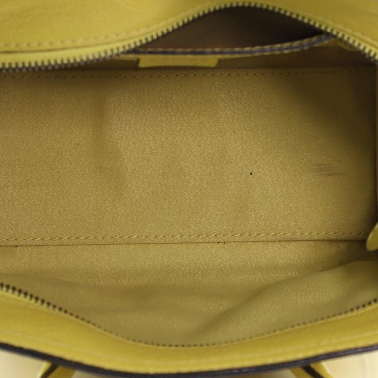 Celine Luggage Bag Grainy Leather Nano For Sale 4