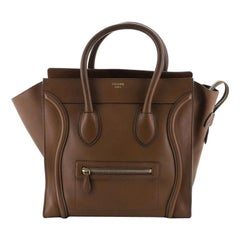Celine Luggage Bag Smooth Leather Medium