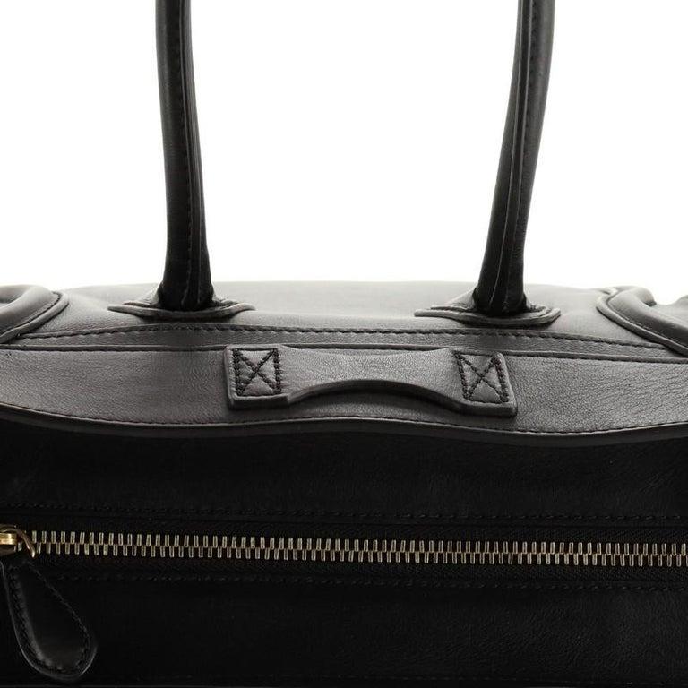 Celine Luggage Bag Smooth Leather Micro 3