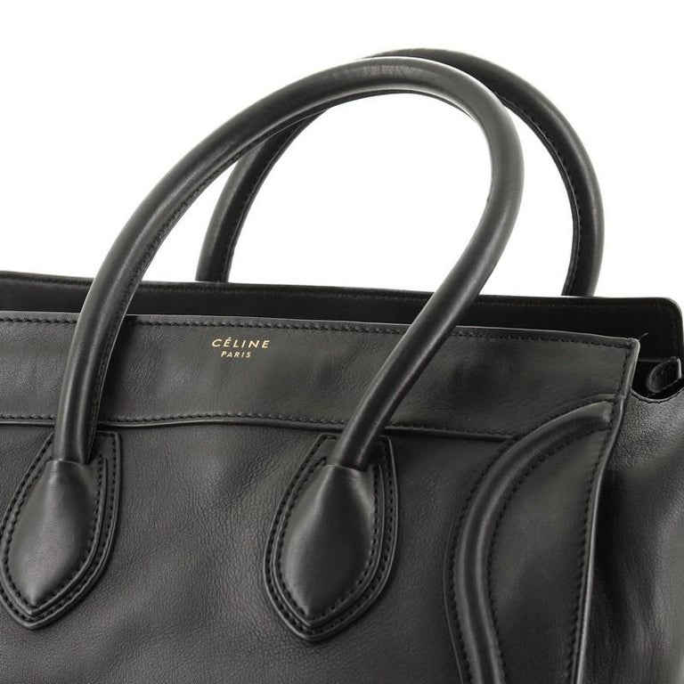 Celine Luggage Bag Smooth Leather Mini For Sale 2
