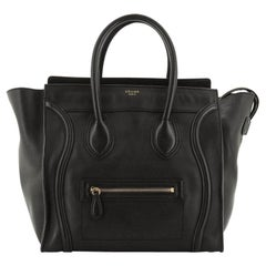 Celine Luggage Bag Smooth Leather Mini