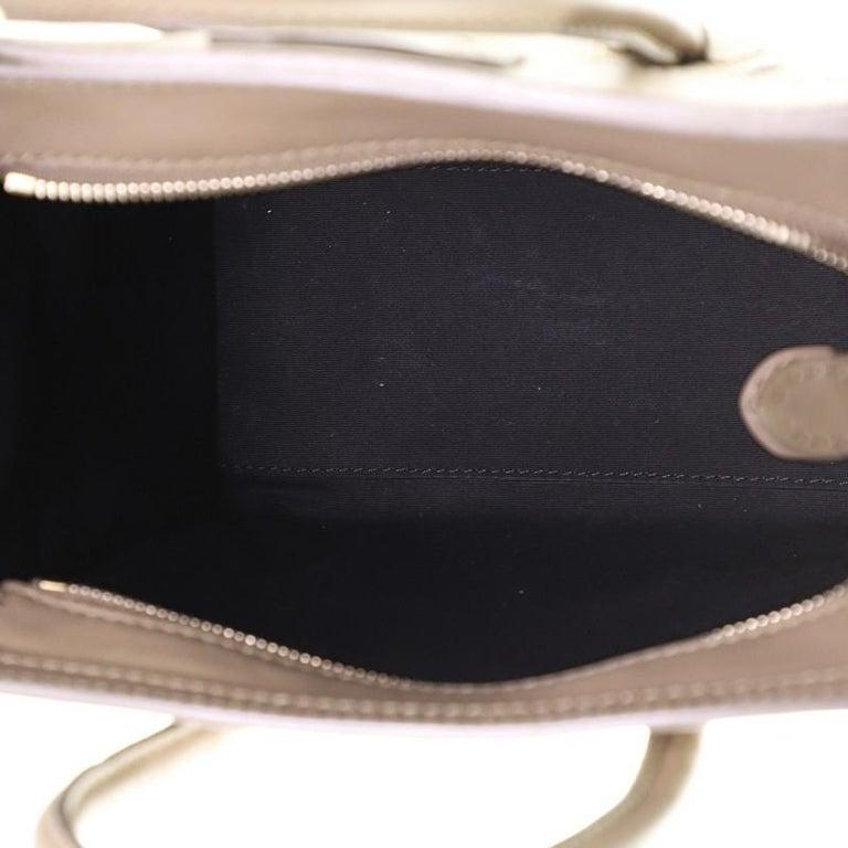 Celine Luggage Bag Smooth Leather Nano For Sale 1