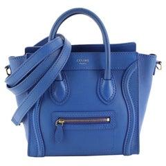 Celine Luggage Bag Smooth Leather Nano