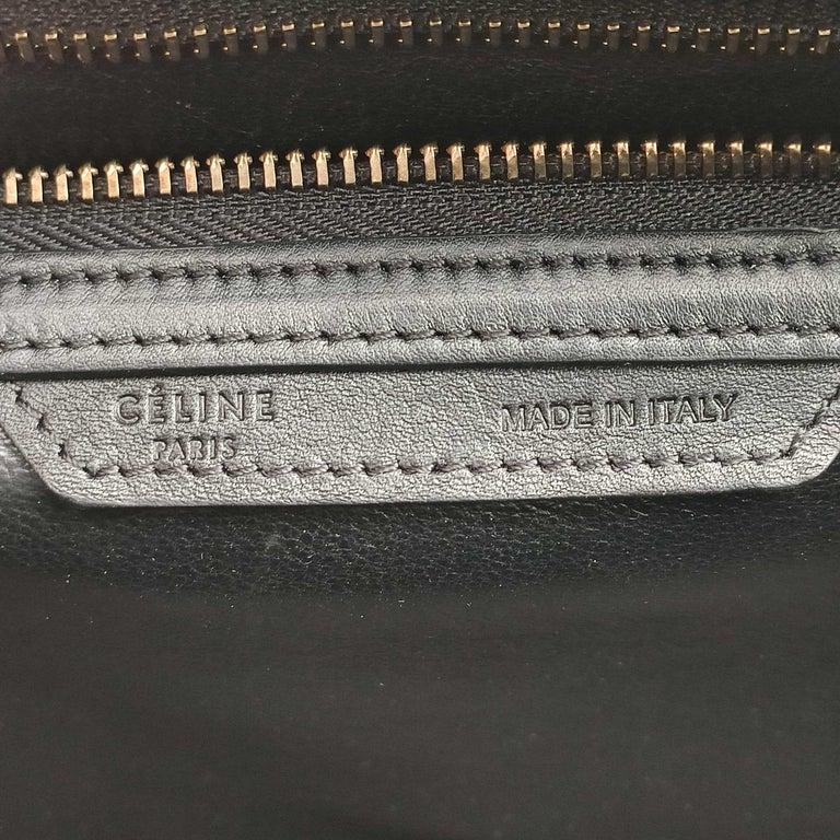CÉLINE luggage Handbag in Blue Leather For Sale 1