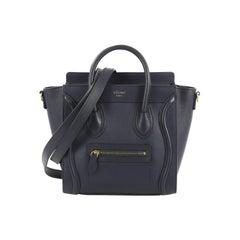 Celine Luggage Handbag Smooth Leather