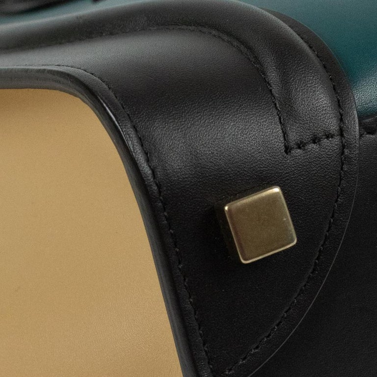 Celine, Luggage in multicolor leather For Sale 5