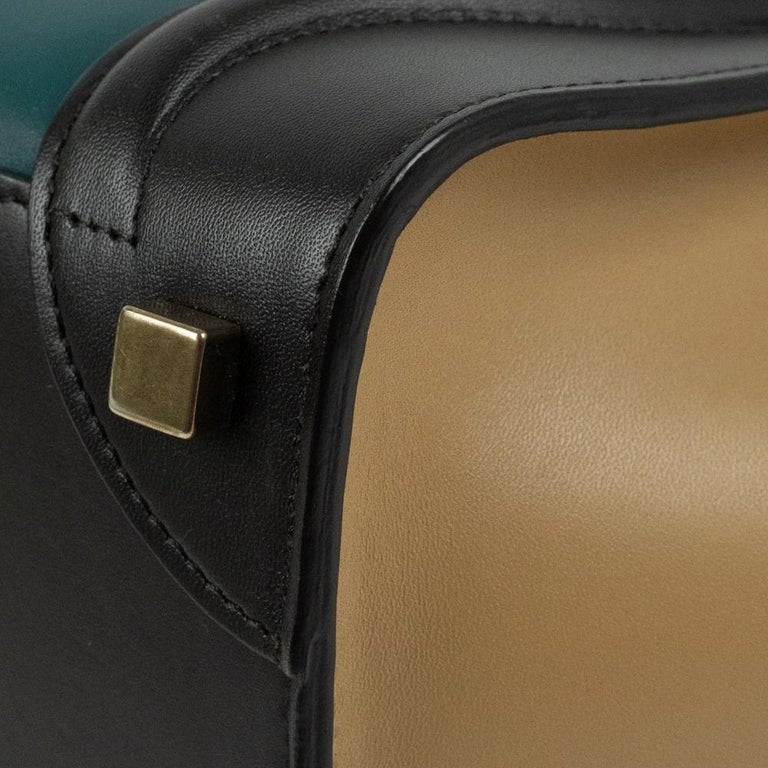 Celine, Luggage in multicolor leather For Sale 6