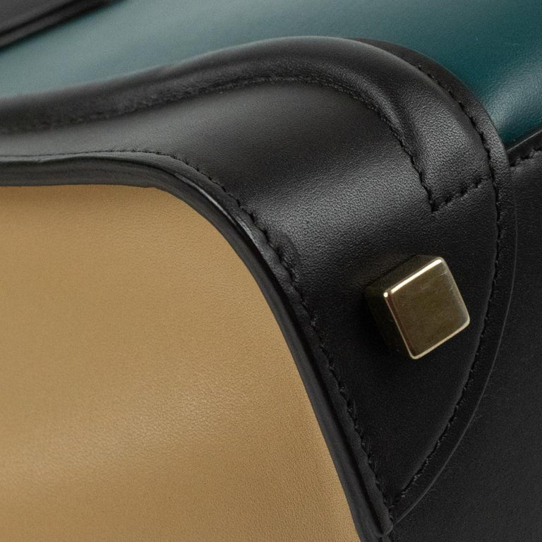 Celine, Luggage in multicolor leather For Sale 7