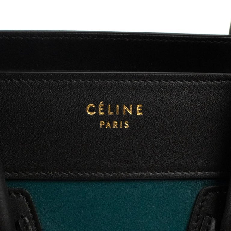 Celine, Luggage in multicolor leather For Sale 3