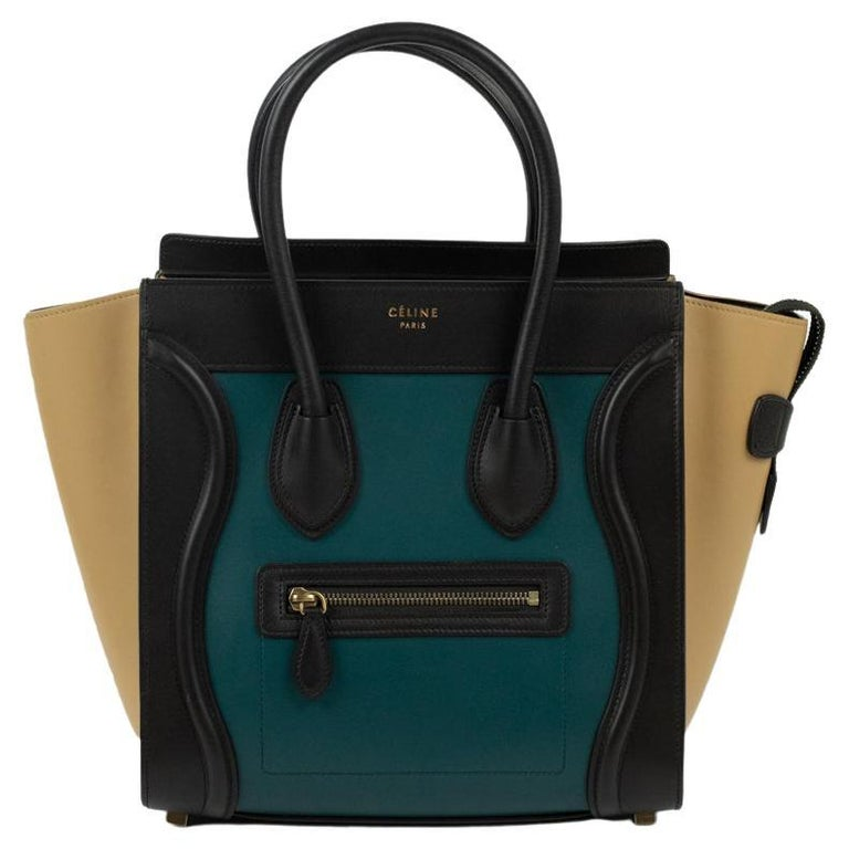 Celine, Luggage in multicolor leather For Sale