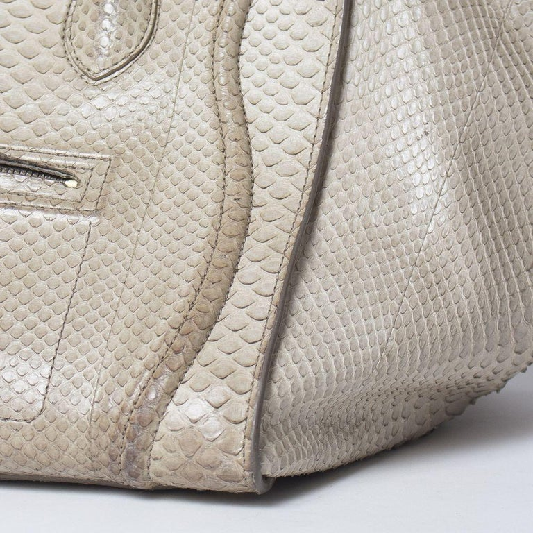 Celine Luggage Phantom Python Handbag 2013 For Sale 5