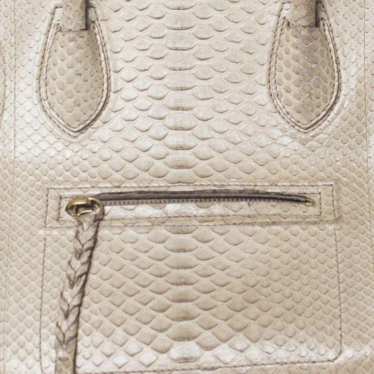 Women's Celine Luggage Phantom Python Handbag 2013 For Sale