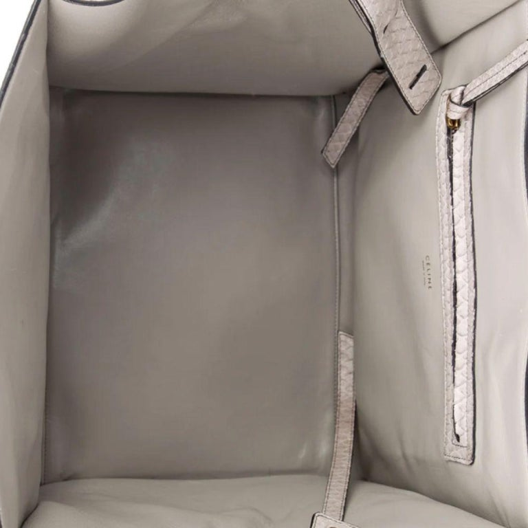 Celine Luggage Phantom Python Handbag 2013 For Sale 1