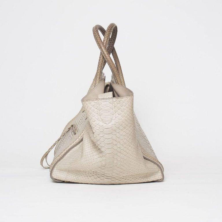 Celine Luggage Phantom Python Handbag 2013 For Sale 2
