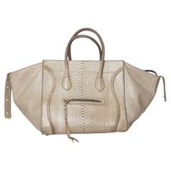 Celine Luggage Phantom Python Handbag 2013