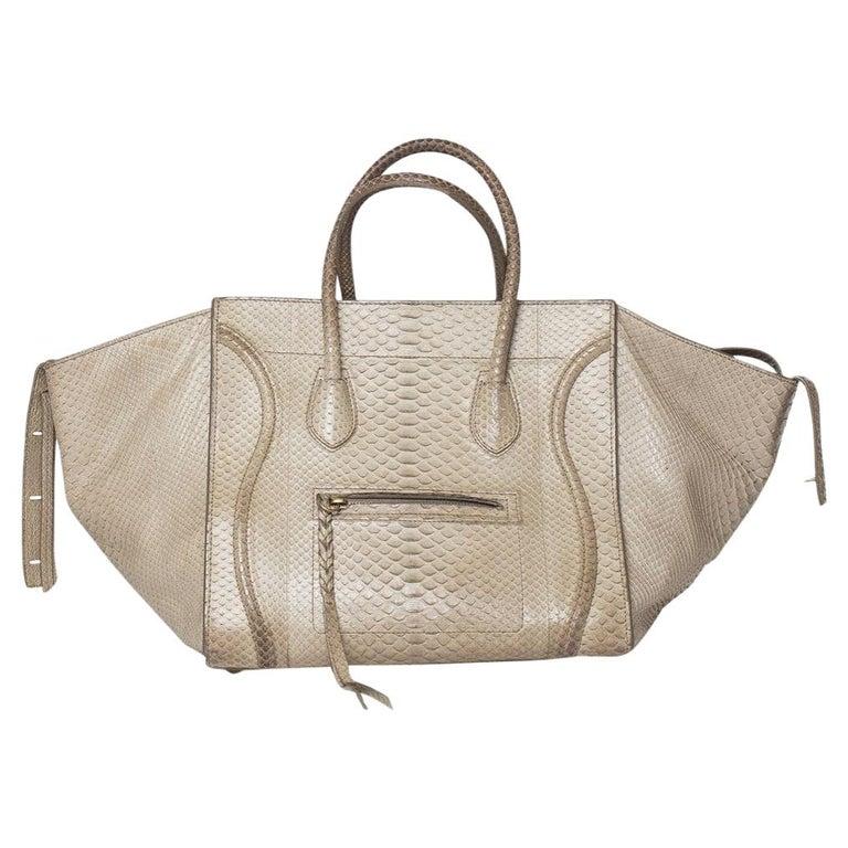 Celine Luggage Phantom Python Handbag 2013 For Sale