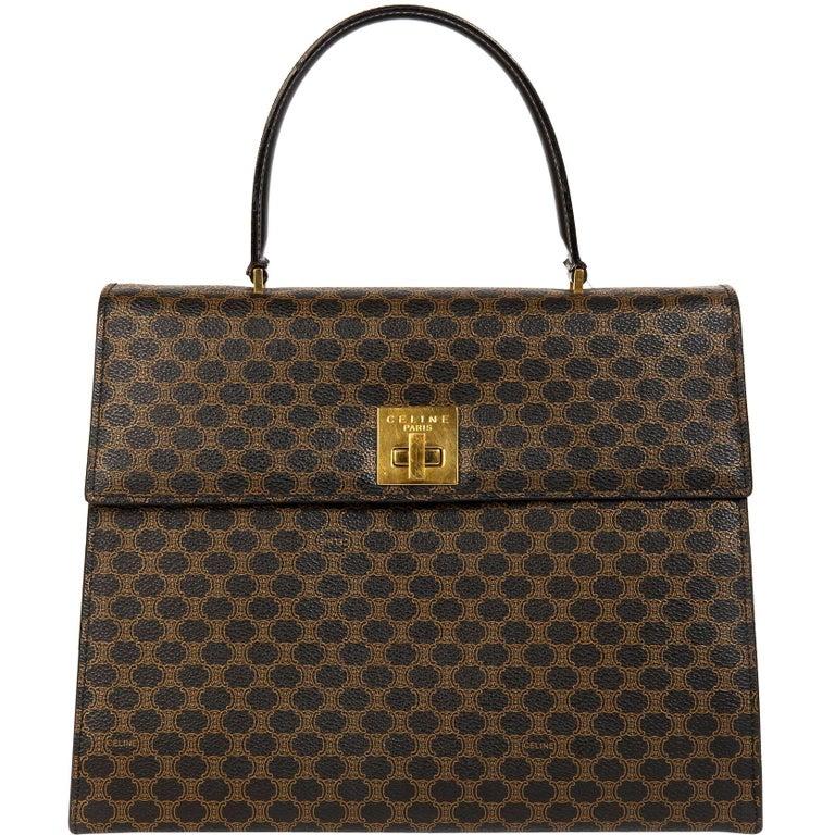 release date reputable site top brands Céline Macadam Top Handle Bag