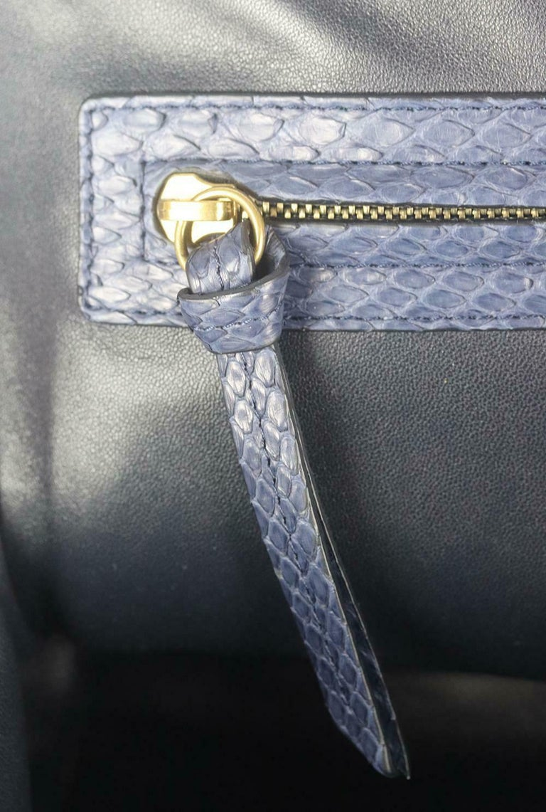 Celine Medium Python Phantom Luggage Tote Bag For Sale 2