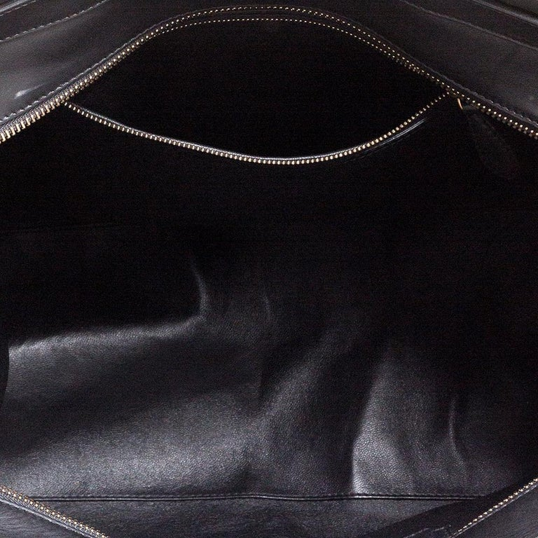 Celine Multicolor Leather and Suede Medium Luggage Tote 6