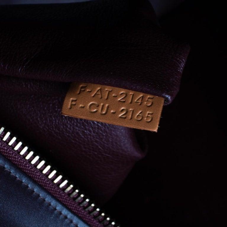 Celine Multicolor Leather Micro Luggage Tote For Sale 6