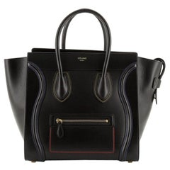 Celine Multicolor Luggage Bag Leather Mini