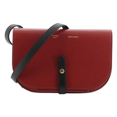 Celine Multifunction Strap Clutch Leather