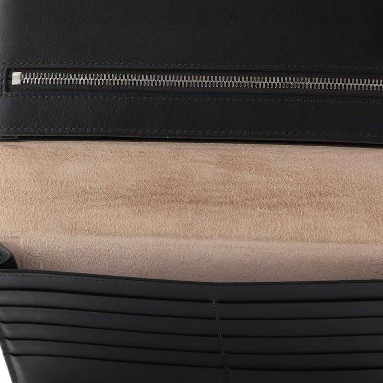 Celine Multifunction Strap Wallet Leather Large For Sale 1