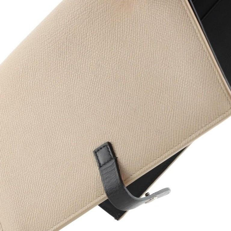 Celine Multifunction Strap Wallet Leather Large For Sale 3