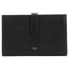 Celine Multifunction Strap Wallet Leather Large