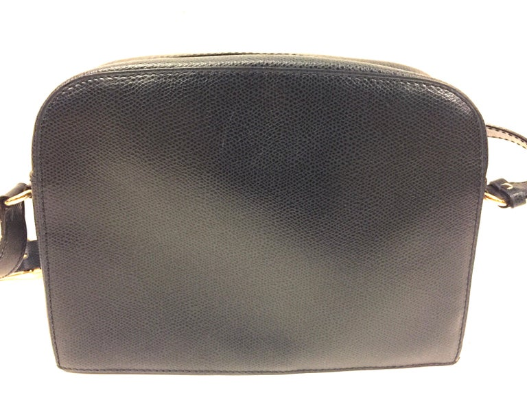 Black Celine navy shoulder bag For Sale
