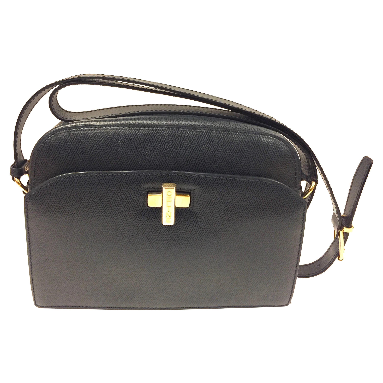 Celine navy shoulder bag