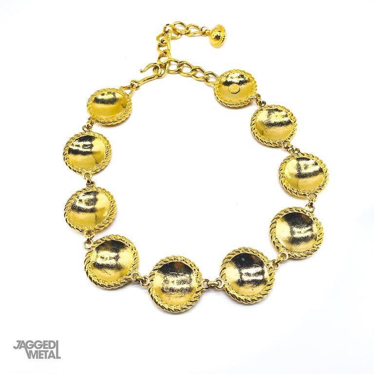 CELINE Necklace Vintage 1990s For Sale 6