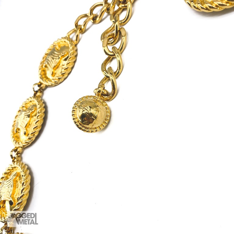 CELINE Necklace Vintage 1990s In Excellent Condition For Sale In London, GB