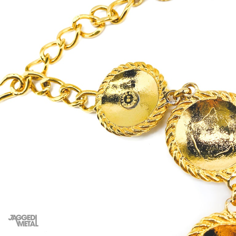 Women's or Men's CELINE Necklace Vintage 1990s For Sale