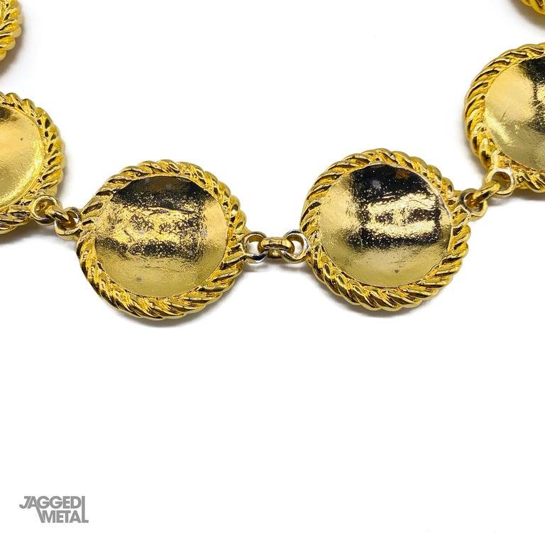 CELINE Necklace Vintage 1990s For Sale 2