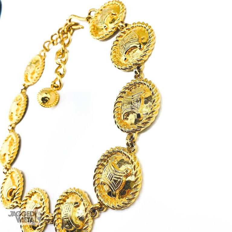 CELINE Necklace Vintage 1990s For Sale 3