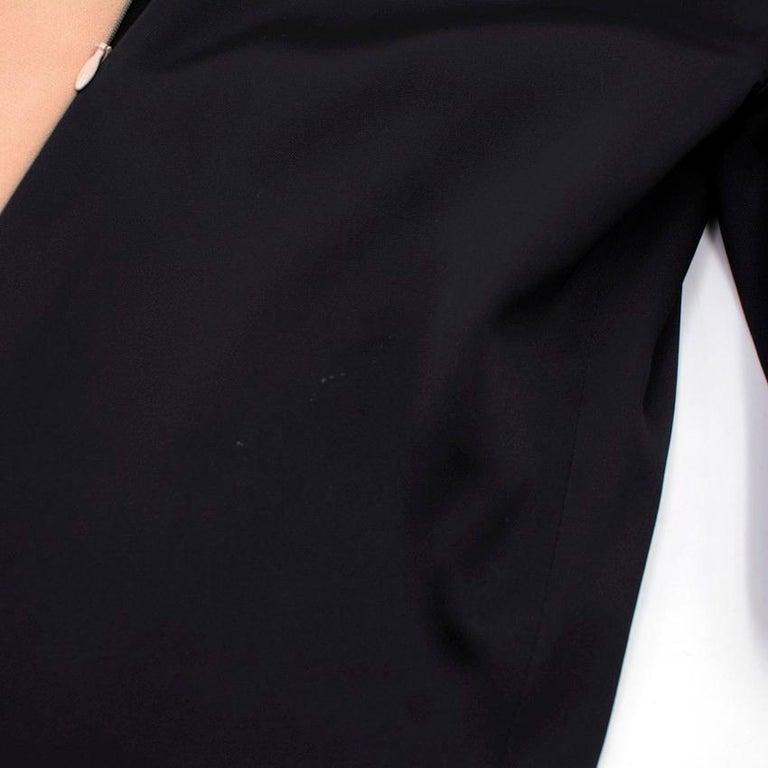 Celine Nude and Black Colour Block Mini Dress US 4 1