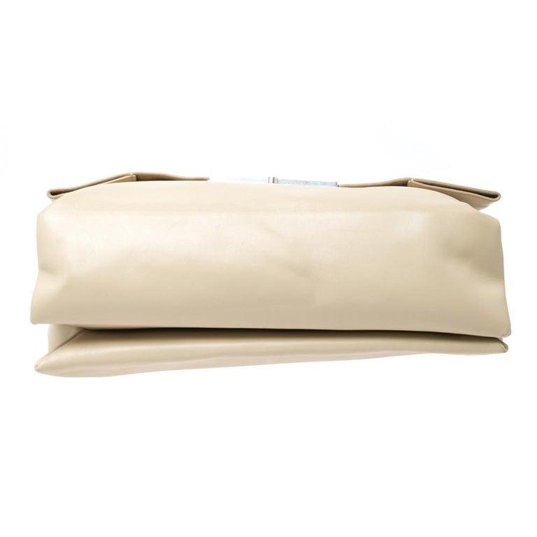 Celine Nude Leather Blade Chain Shoulder Bag For Sale 5